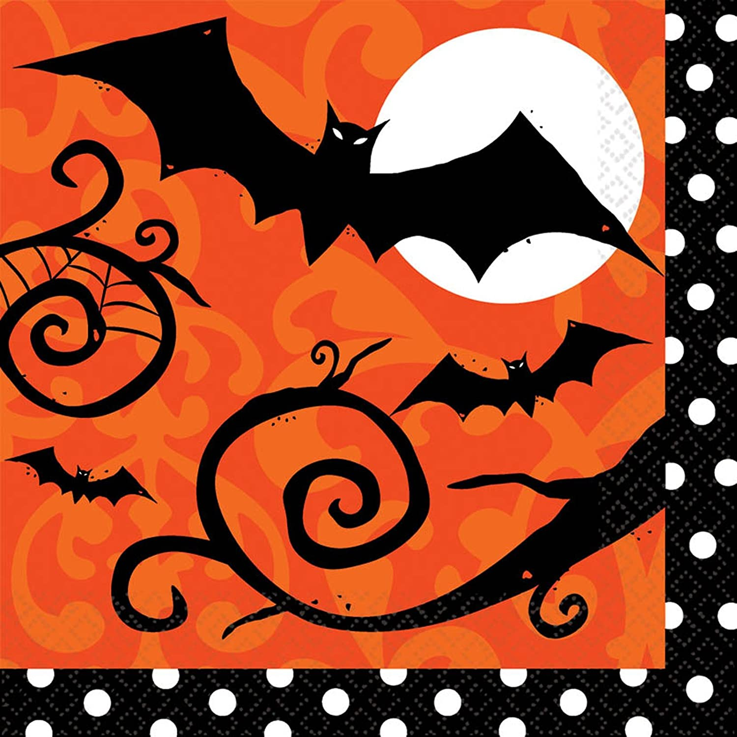 Halloween Bat Napkins