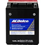 ACDelco ATX14AHLBS Specialty AGM Powersports JIS 14AHL-BS Battery