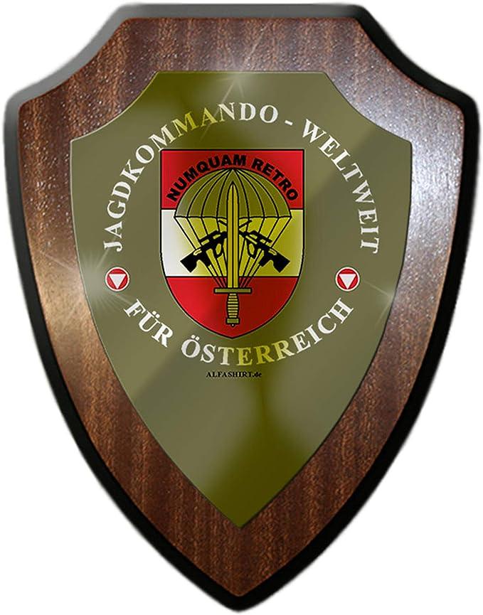 Jagdkommando Weltweit Für Österreich Spezialeinheit Wandschild 27277
