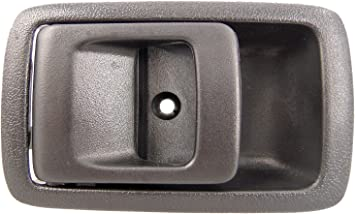 Dorman 83945 Front Passenger Side Interior Door Handle for Select Scion Models Gray and Chrome