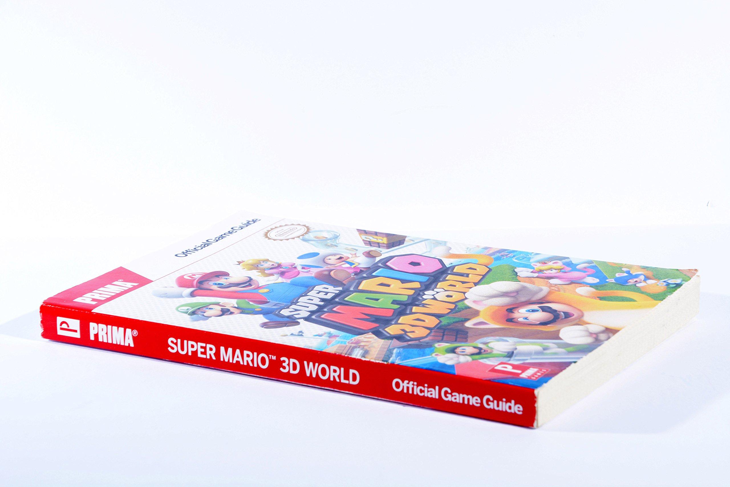 prima super mario 3d world official game guide alex and hatchett rh amazon com Super Mario Galaxy Super Mario Odyssey