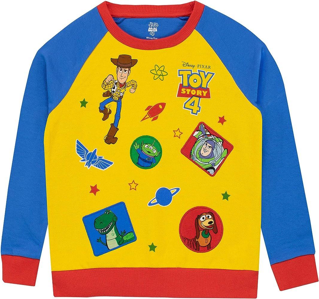 Disney Sudadera para niños Toy Story Multicolor 18-24 Meses: Amazon.es: Ropa y accesorios