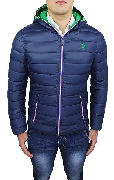 low priced 39cd3 a49ba Giubbotto piumino uomo Us Polo Assn blu invernale casual ...