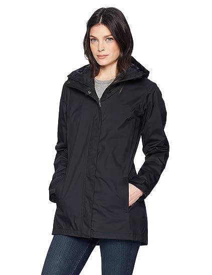 Columbia Womens Splash A Little Ii Waterproof Rain Jacket, Black, X-Small