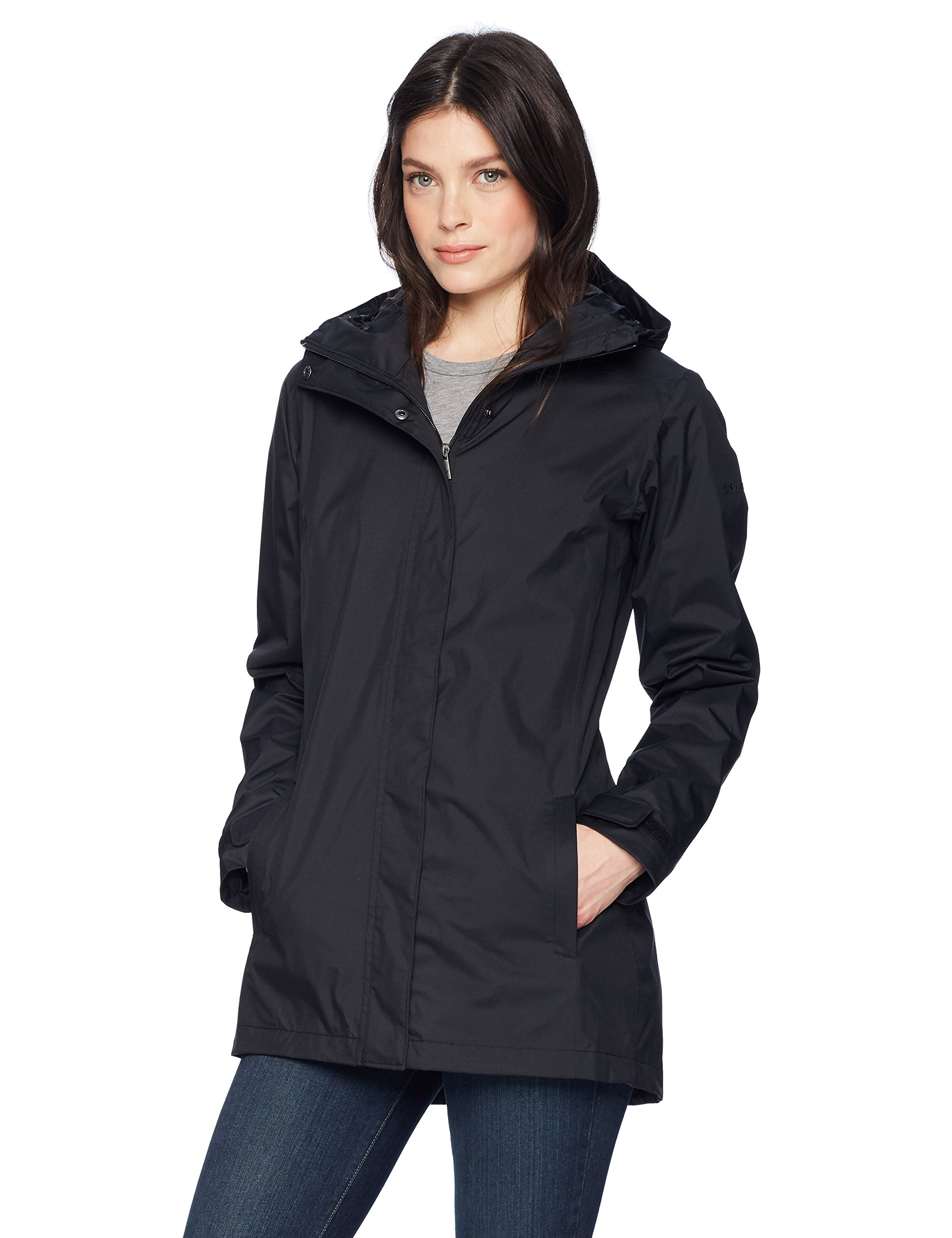Columbia Women's Splash A Little Ii Jacket, Black, Large
