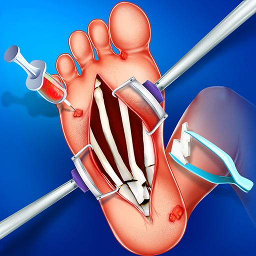 (Foot Sole Surgery Simulator  & Spa Salon- Free Emergency Doctor Games)
