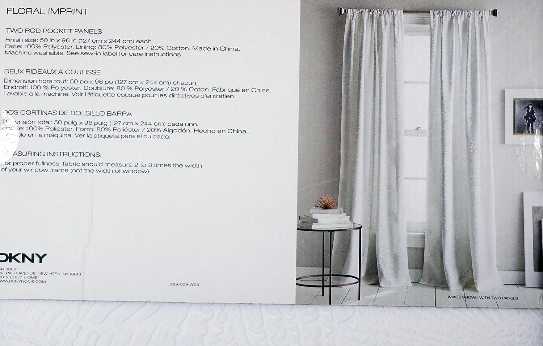 Amazon.com: DKNY Pair of Window Panels Curtains Drapery Set of 2 ...