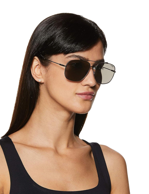 Lens Ruthenium Frame Silver Mirror Lenses Carrera 182//F//S Sunglasses CA182FS-06LB-T4-6017