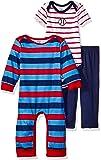 Gerber 男宝宝连体衣 3 件套,紧身衣裤和裤子套装