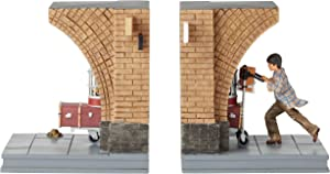 Enesco The Wizarding World of Harry Potter Platform 9 3/4 Decorative Bookends, 7.01 Inch
