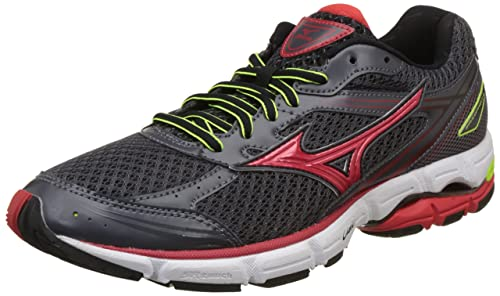 Mizuno Zapatillas de Running Wave Connect Antracita/Rojo EU 39 (US 7)