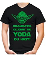 yoda spruch t shirt star wars lustige darth zitate sith vader m nner herren. Black Bedroom Furniture Sets. Home Design Ideas