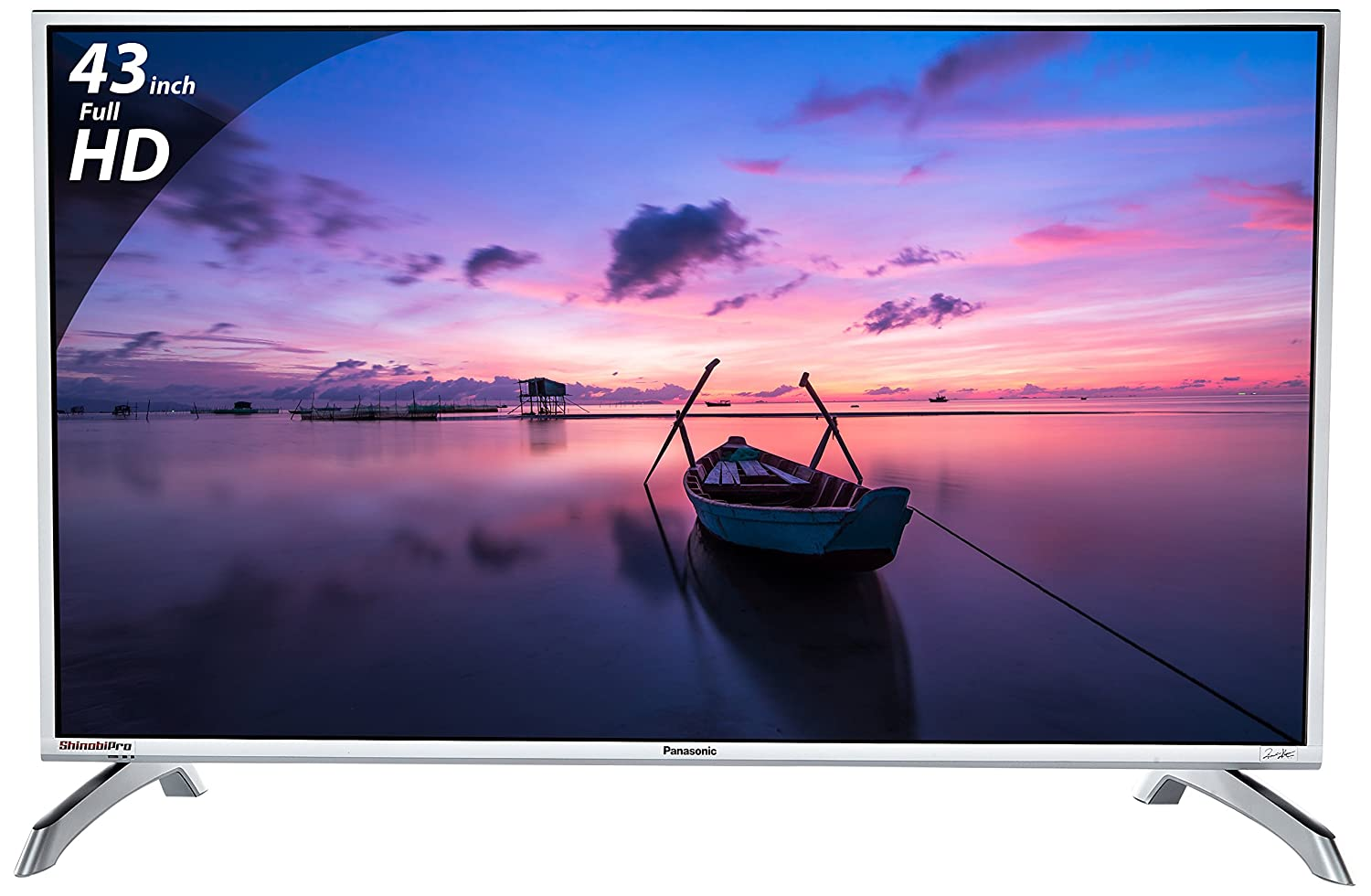 Panasonic 108 cm (43 inches) Viera Shinobi , super bright TH-43E460D Full HD LED TV-39% OFF