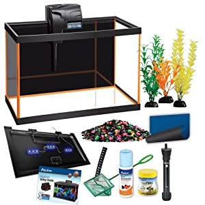 Aqueon NeonGlow 10 gallon aquarium kit