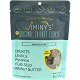 Jiminy's Cricket Protein Peanut Butter & Pumpkin Cricket Cookie Treats | 100% Made in The USA | Gluten-Free…