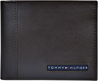 Tommy Hilfiger Men's Leather Wallet Brown