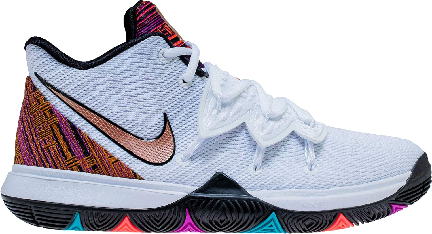 the latest 9699c c7e5f Amazon.com | Nike Kids GS Kyrie 5 BHM Basketball Shoe ...