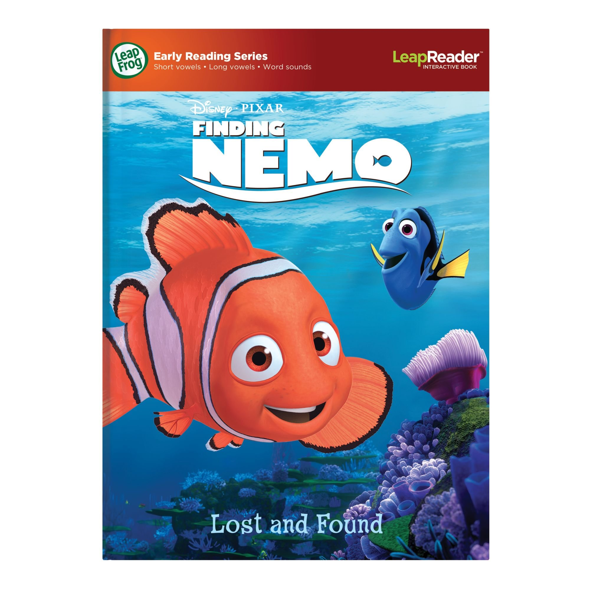 LeapFrog LeapReader Book: Disney·Pixar Finding Nemo, Lost and Found (works with Tag) by LeapFrog (Image #8)