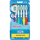 Oral-B Fresh Clean Toothbrush Soft 5 Pack