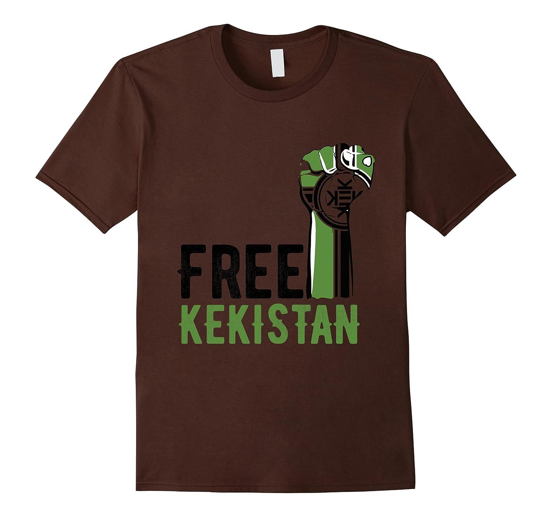 Free Kekistan Shirt Riot Fist Kek Tee-RT