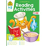 School Zone - Reading Activities Workbook - 64 Pages, Ages 6 to 8, 1st Grade, 2nd Grade, Comprehension, Comparing, Contrastin