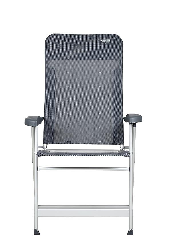 Indual Mobiliario Silla Plegable Crespo Luxus Plus Gris
