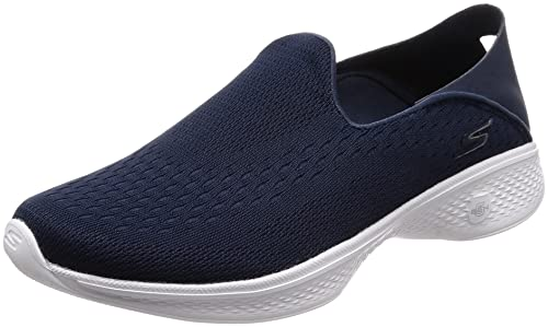 navy skechers go walk