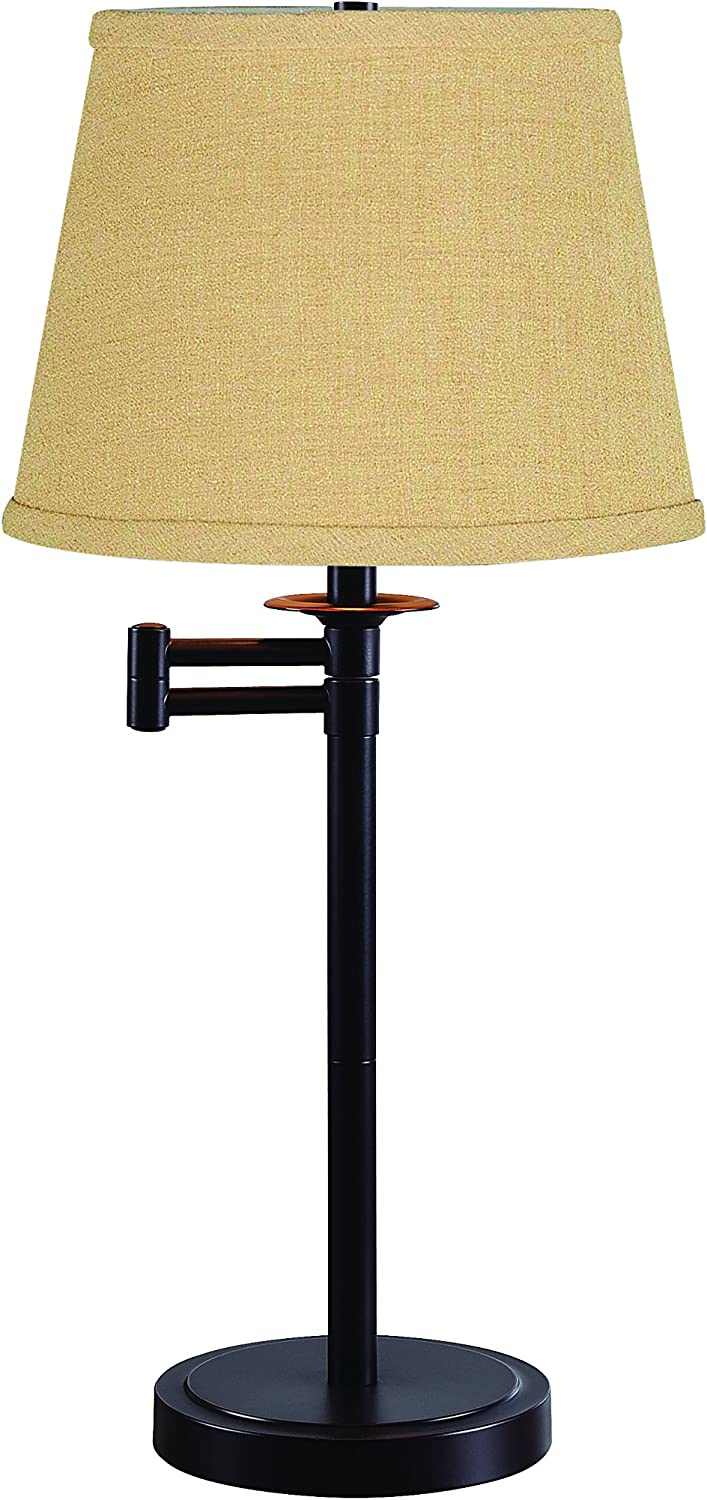 Kenroy Home Sheppard Accent Lamp, Oil Rubbed, Table Bronze