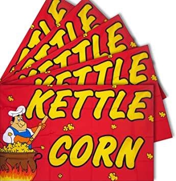KETTLE CORN Flag Store Sign Business Advertising Banner Pennant 3x5