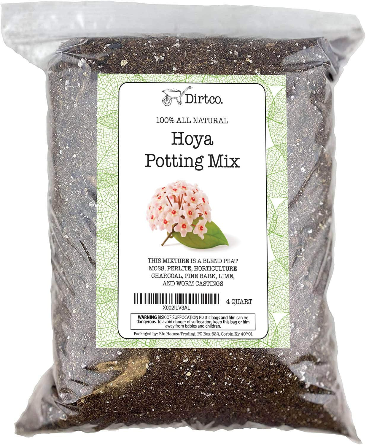 Amazon Com Hoya Potting Mix Potting Soil Media For Planting Or Re Potting Hoya Obovata Or India Rope Hoya All Natural Potting Soil For Planting Hoya 4qts Garden Outdoor