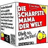 Die schärfste Mama der Welt - Ein witziges Geschenk zu Ostern, Valentinstag, Weihnachten, Muttertag für Deine Mutter
