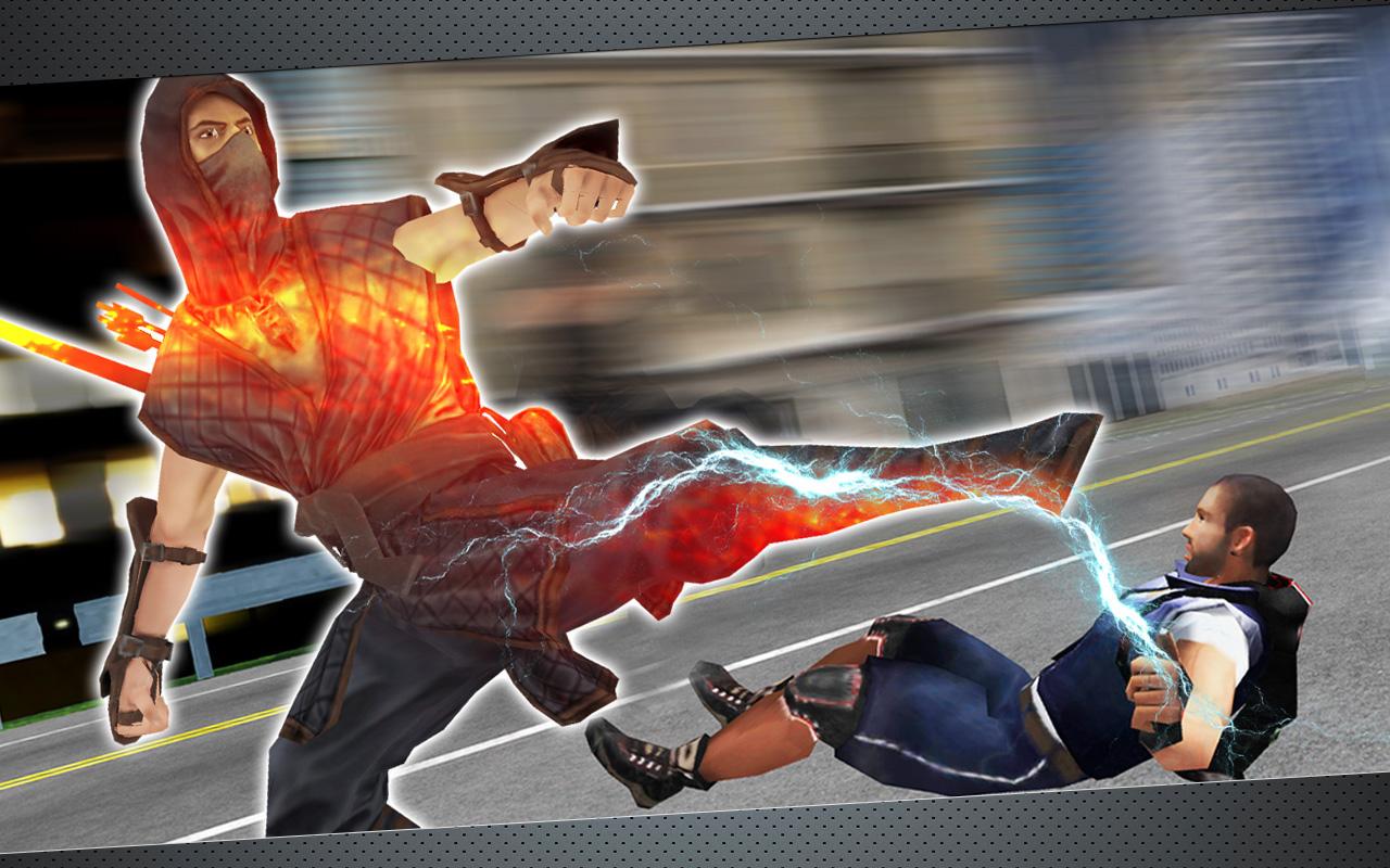 Ninja Warrior Vendetta Crime 3D Game: Amazon.es: Appstore ...