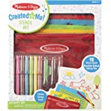 Melissa & Doug Stencil Art Activity Set Arts & Crafts