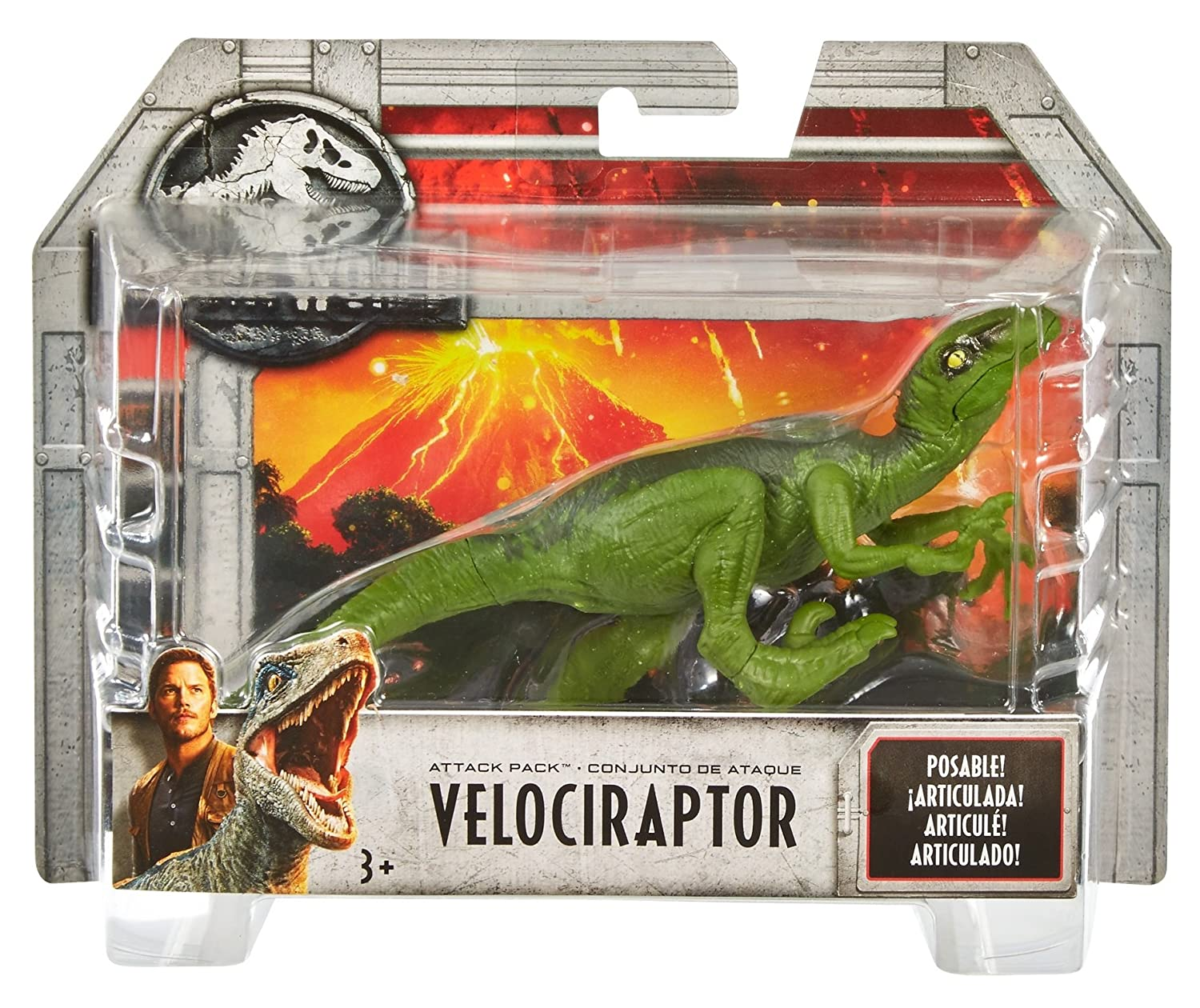 Jurassic World Attack Pack Gallimimus Figure