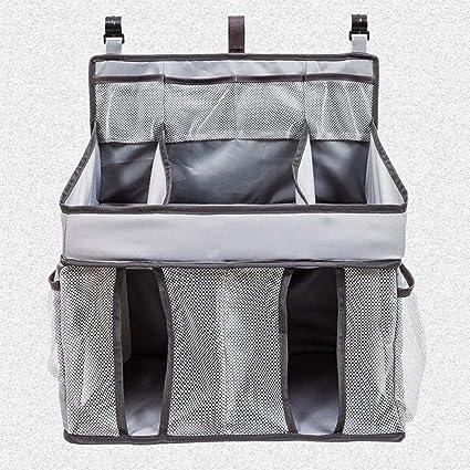 Kaxima bolsas de almacenamiento, pañales para bebés multifuncional bolsas, lavables, cuna colgar bolsas