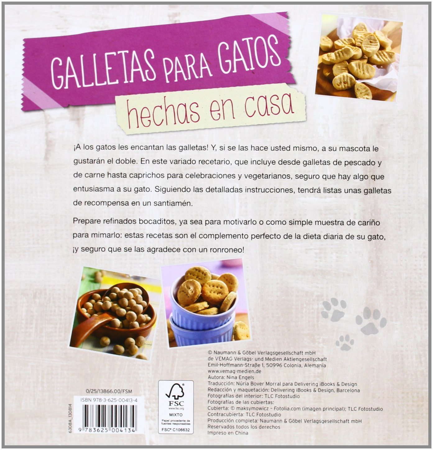 GALLETAS PARA GATOS.(HECHAS EN CASA): VV.AA.: 9783625004134: Amazon.com: Books