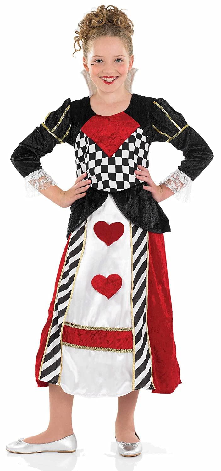 amazoncom extra large girls queen of hearts girl costume home improvement