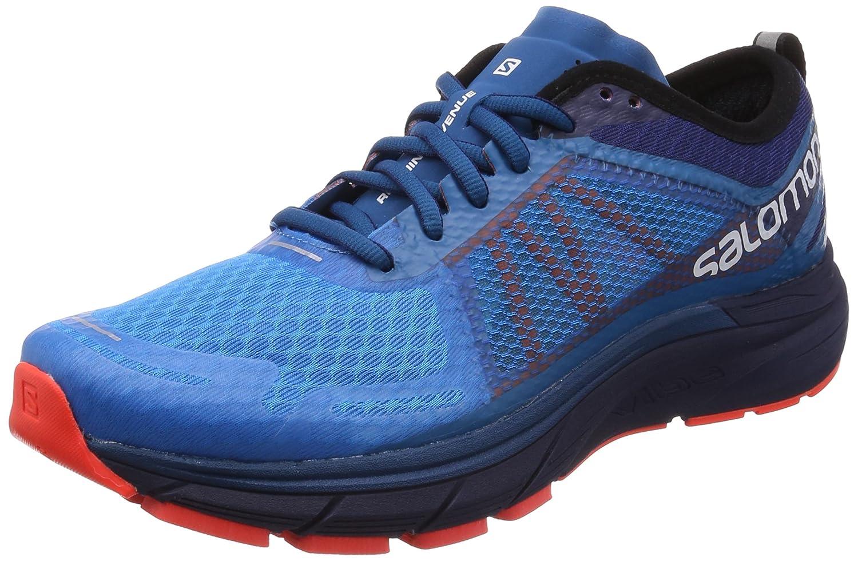 Salomon Sonic Ra MAX, Zapatillas de Trail Running para Hombre 47 1/3 EU|Multicolor (Hawaiian Surf/Medieval Blue/Fiery C 000)