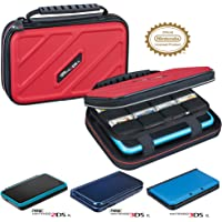 RDS Industries Officially Licensed Hard Protective 3DS XL Carrying Case - Compatiable with Nintendo 3DS XL, 2DS XL, New…
