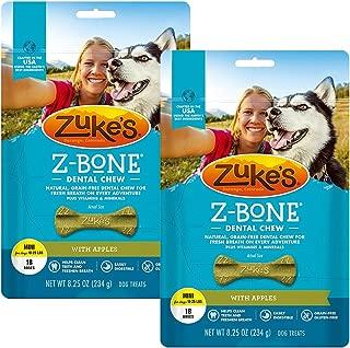 product image for Zuke's Z-Bone Dental Chew Dog Treats - Apple - Pack of 2