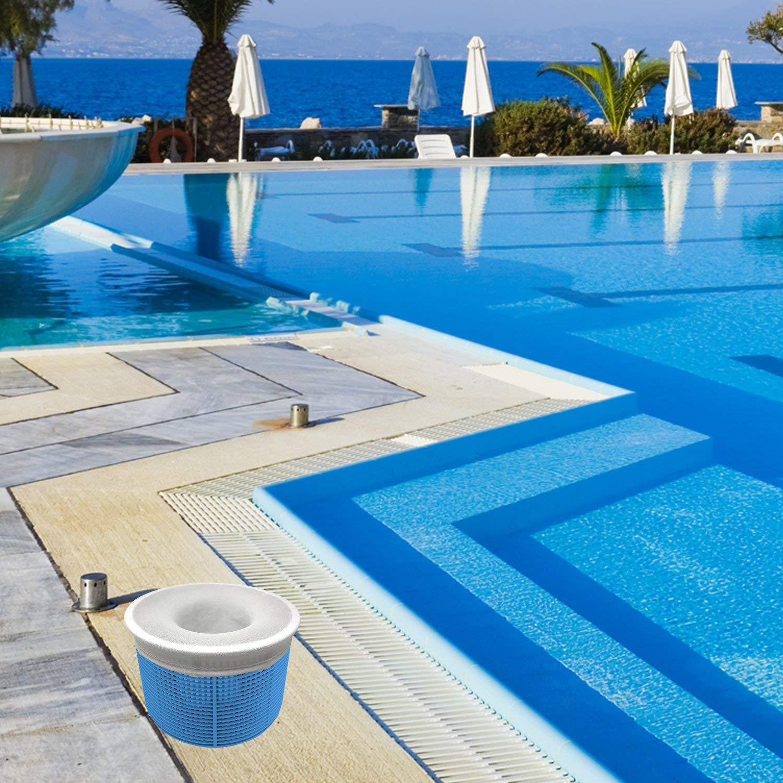 Aiglam 30 Pack Pool Skimmer Socks Pool Buy Online In Albania At Desertcart