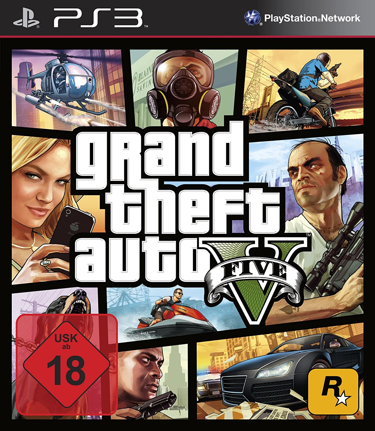GTA V PS3 amazon