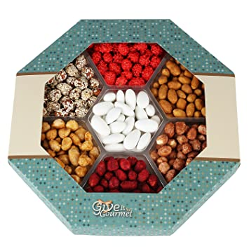 GIVE IT GOURMET, Peanut Variety,Gift Baskets Holiday Nuts Gift Basket  Delightful Gourmet Food