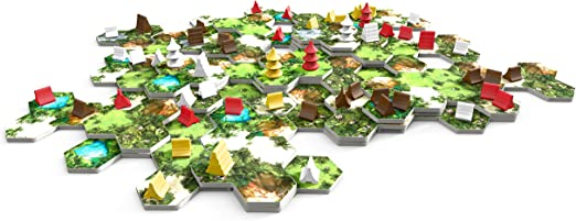 Ferti Games – Juego de Estrategia, Taluva: Amazon.es: Juguetes y juegos