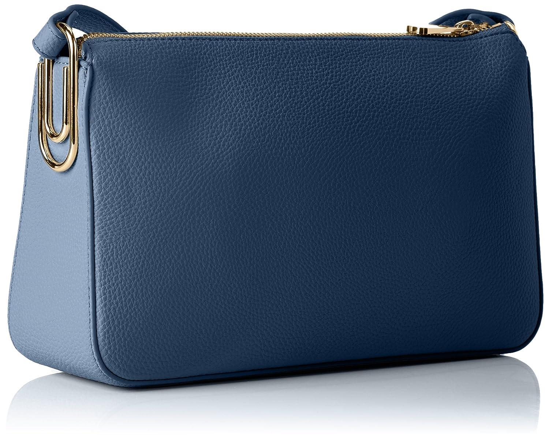 Damen Borsa Tracolla Baguette, Blau (Blu Marlin), 17x8x28 cm Armani Jeans