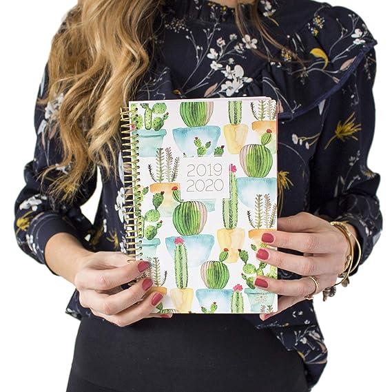 Amazon.com: Planificador diario de la floración de la menta ...