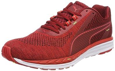 b8674598e290 Puma Men s Flame Scarlet-Fizzy Yellow Sneakers-11 UK India (46 EU ...
