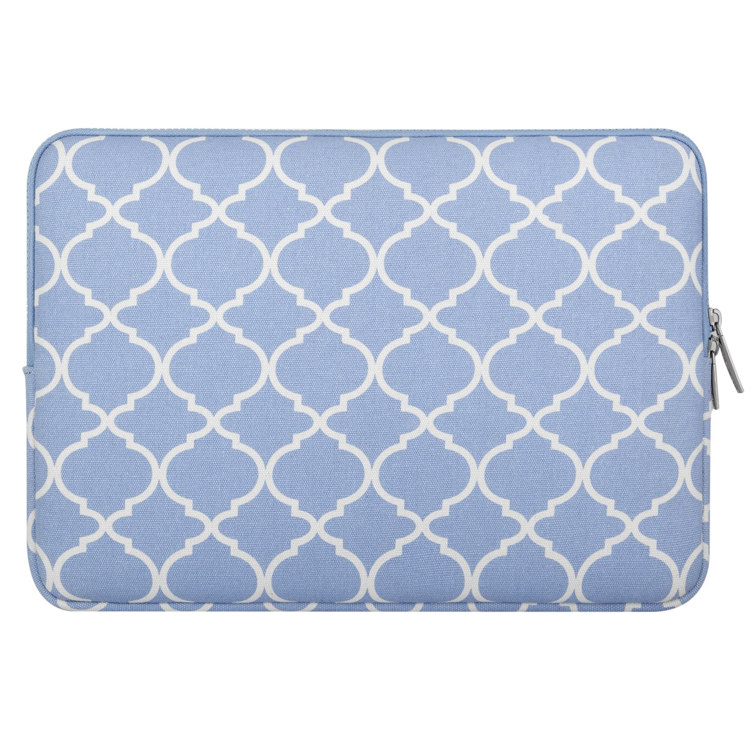 392dba57276f MOSISO Laptop Sleeve Bag Compatible 13-13.3 Inch MacBook Pro, MacBook Air,  Notebook Computer with Small Case, Canvas Geometric Pattern Protective ...