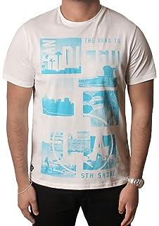 Mens T-Shirt by South Shore Short Sleeved Print T-shirt Tee Top CA-Diego S-XXL