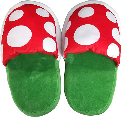 Super Mario Piranha Plant Room Slippers /& Pipe L Fast Shipping From US XMas Gift